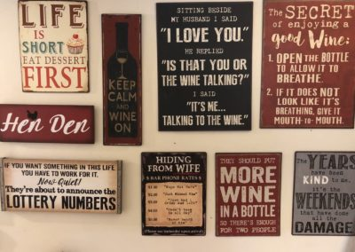 Signs and accessories for your home